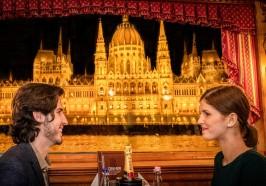 достопримечательности Будапешт - Будапешт: круиз с ужином и живой музыкой