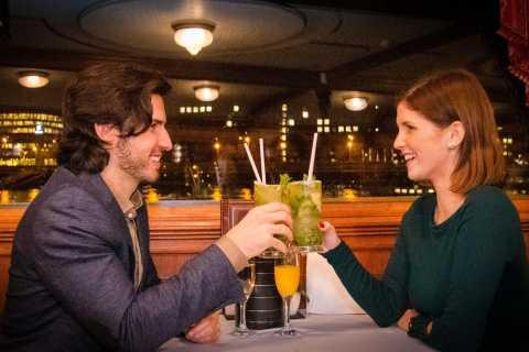 Budapest: croisière le soir avec boissons et musique live