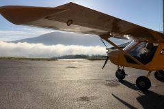 Chamonix: Vôo de avião ultraleve sobre o vale