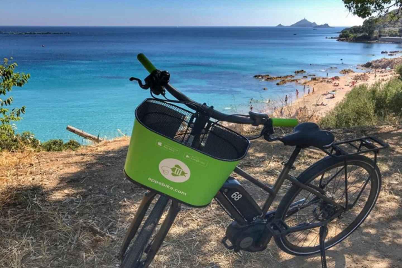 Ajaccio: Selbstgeführte E-Bike-Tour am Wasser entlang