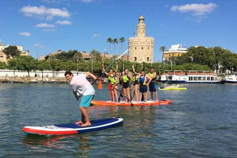 Seville: Group Giant Paddle-Boarding Session