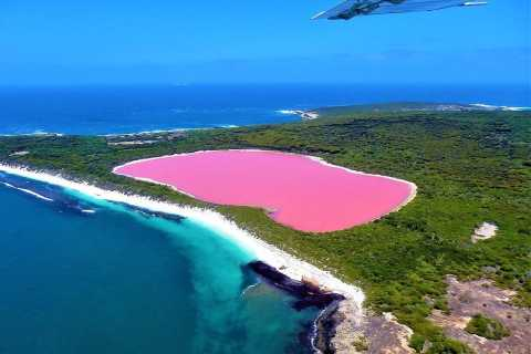 Esperance: Middle Island & Pink Lake Hillier Scenic Flight