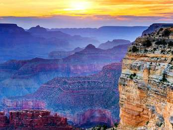 Grand Canyon: Tour mit Zugfahrt in 1. Klasse