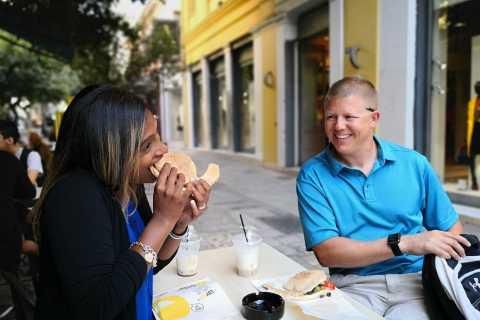 Athene: eet als een lokale Griekse ontbijtervaring