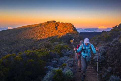 Réunion: Randonnée hebdomadaire au volcan Piton de la Fournaise en français