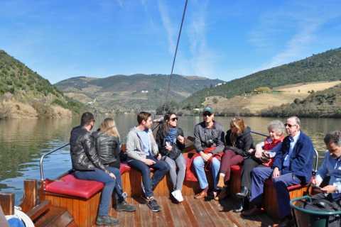 Do Porto: Excursão ao Vale do Douro com Degustação de Vinhos e Cruzeiro