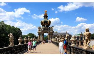 Dresden: Führung durch den Zwinger