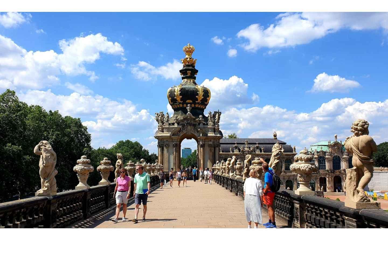 Dresden: Geführte Tour durch den Zwinger