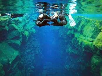 Silfra-Spalte: Schnorchel-Tour mit Unterwasser-Fotos
