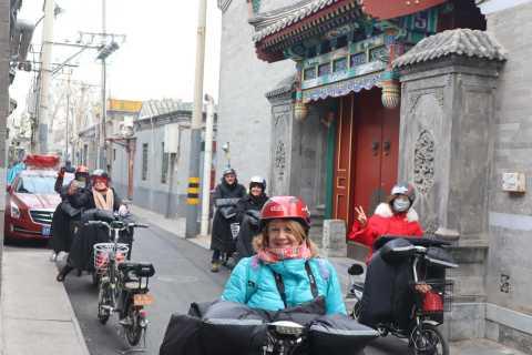 Pechino: vecchia avventura e-bike di Pechino
