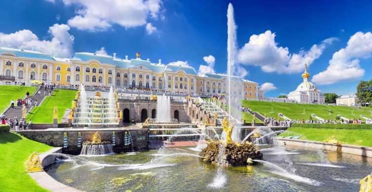 São Petersburgo: Excursão Particular Residências Imperiais