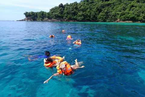 Koh Lanta: Adventure Sea Tour to the Twin Islands of Koh Rok