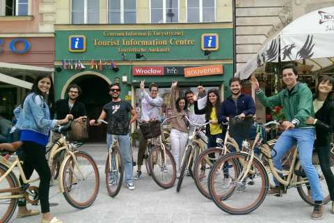 Wroclaw: 3-Hour Bike Tour in English, German or Polish