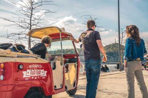 Budapest: TukTuk Tour with Zwack Unicum Distillery Tour
