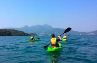 Hong Kong: Geopark-Kajak-Abenteuer