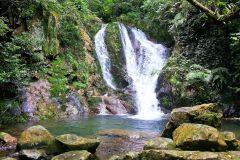 Hong Kong: caminhada na cachoeira Tai Mo Shan
