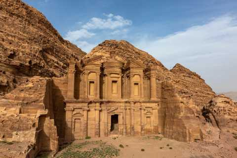 From Eilat: Petra Full-Day Guided Tour with Transfers