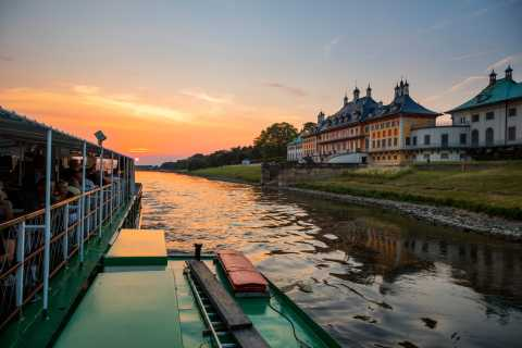 Dresden: Sunset Paddle Steamer Cruise on the Elbe River
