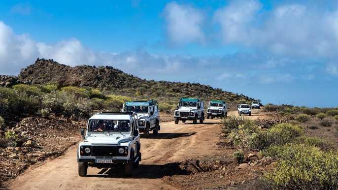 From Playa del Inglés: Jeep Safari to Fataga
