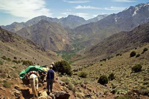 From Marrakech: 2-Day Trek to Toubkal Express