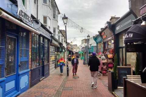 Brighton: Walking Food Tour