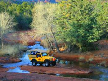 "Ab Sedona: Jeep-Tour ""Red Rock West"""