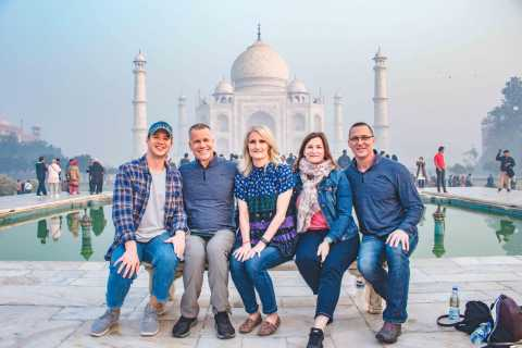 From Delhi: Private Taj Mahal and Agra Tour by Express Train