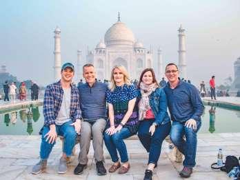 Aus Delhi: Private Taj Mahal und Agra Tour mit dem Expresszug