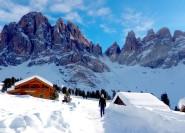 Dolomiten Schneeschuhtour: Privatausflug bei Bozen
