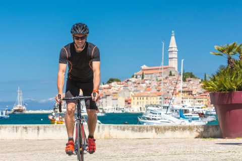 Rovinj: Half-Day Bike Tour with Wine and Olive Oil Tasting