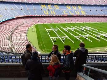 Barcelona: Camp-Nou-Stadion-Tour mit einem Sportjournalist