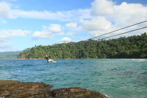 Puerto Princesa: Underground River, Zipline, Paddleboat Tour