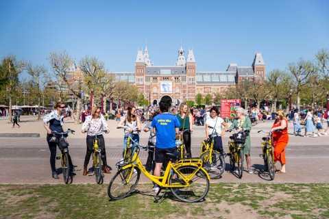 Amsterdam: Große geführte Fahrradtour durch die Stadt