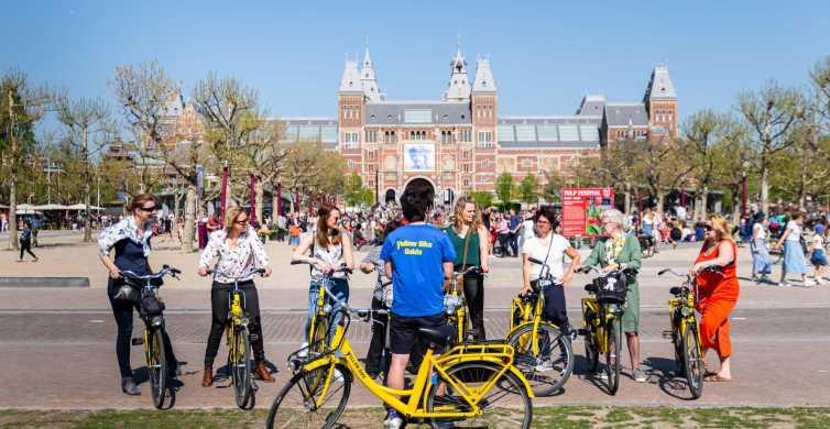Amsterdam: Guided 3-Hour Big City Bike Tour