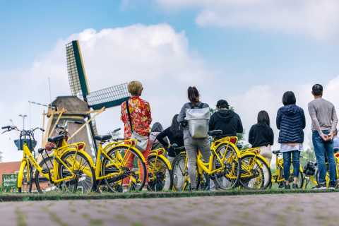 Amsterdam: Guided Countryside 4-Hour Bike Tour