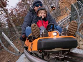 Pigeon Forge: Rocky Top Mountain Coaster Fahrt
