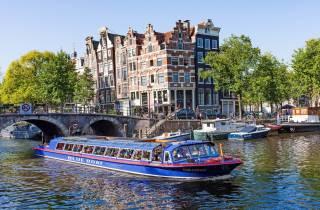 Amsterdam: Canal Cruise und Stripclub Tour