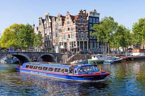 Amsterdam: Canal Cruise and Stripclub Tour