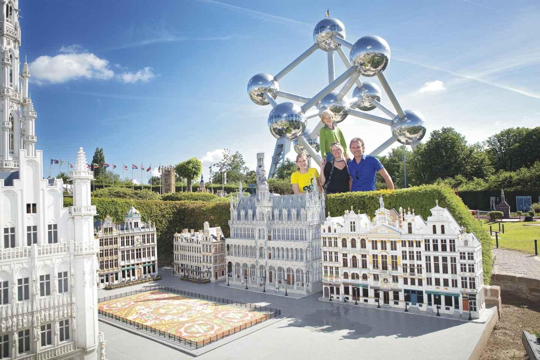 Brüssel: Eintrittsticket für den Modellpark Mini-Europa