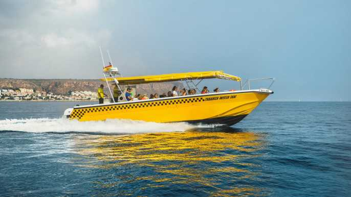 Santa Pola: Boleto de regreso en bote en taxi a la isla de Tabarca