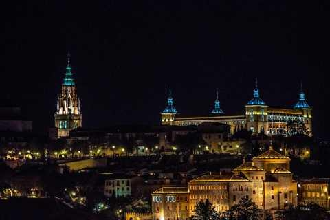 Toledo at Night from Madrid: Subways and Secrets of Toledo