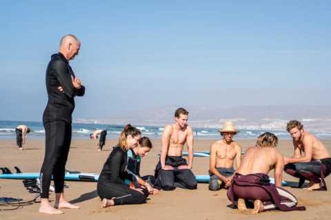 Tamraght: Full-Day Surf, Yoga, and Cooking Classes