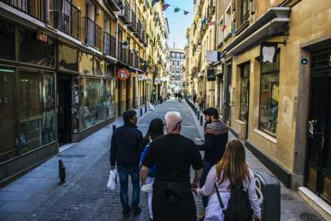 Madrid: Market Brunch Tapas Tour