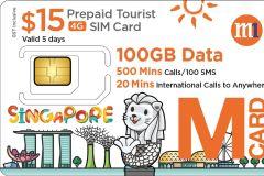Cingapura: Simcard pré-pago 3G / 4G Tourist