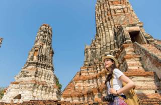 Ab Bangkok: Tagestour zum Geschichtspark Ayutthaya