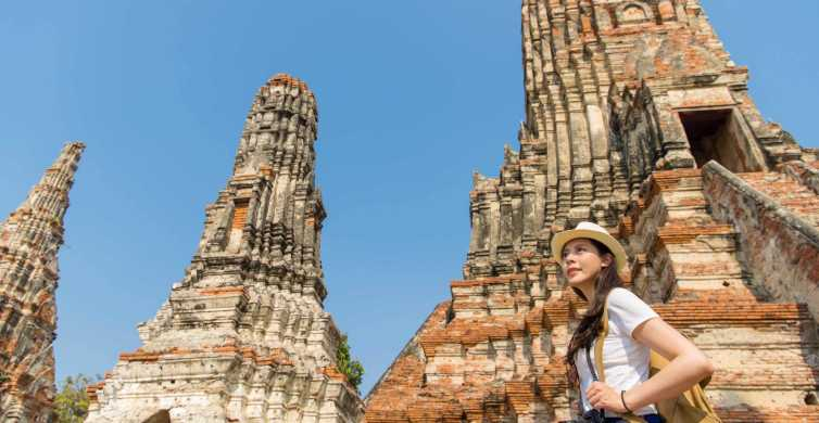 From Bangkok: Ayutthaya Historical Park Small-Group Day Trip