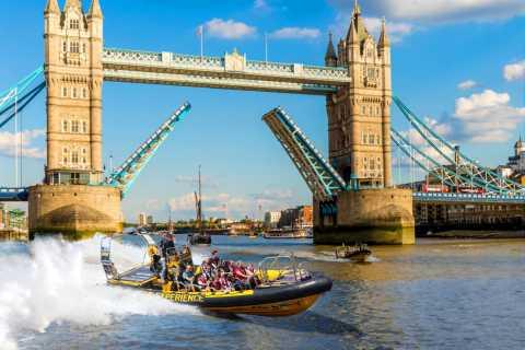 Londres: tour en lancha rápida de RIB Blast Ultimate Tower de 40 minutos