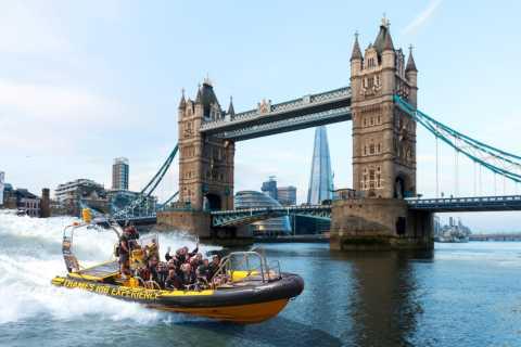 Londres: tour de 50 minutos en lancha RIB por el río Támesis