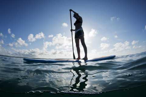 Bucht von Palma: Stand-Up-Paddleboard-Verleih