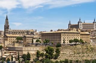Ab Madrid: Halbtagestour nach Toledo